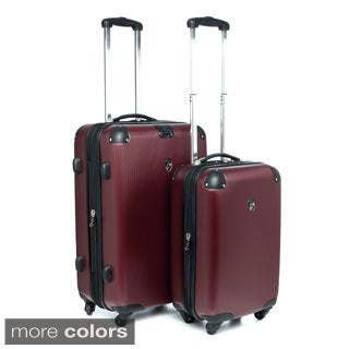 Heys USA Valet 2-piece Hardside Spinner Luggage Set