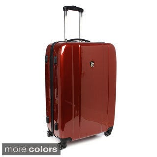 Heys USA Burgundy 28-inch Large Hardside Spinner Upright Suitcase