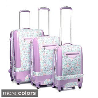 Heys USA Novus Art Painterly 3-piece Hybrid Spinner Luggage Set