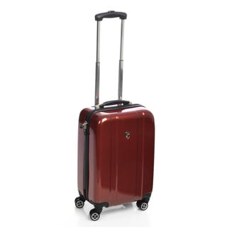 Heys USA Burgundy 20-inch Hardside Carry-on Spinner Upright