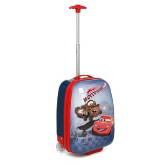 Disney by Heys Cars Wooo Hooo 18-inch Kids Carry-on Upright