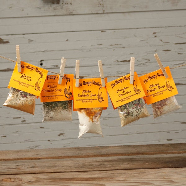 The Hungry Monkey Soup Seasoning Mix Sampler