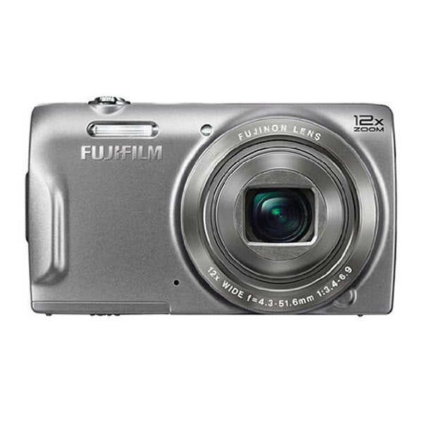 Fujifilm FinePix T500 16MP Silver Digital Camera