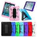 Gearonic Rugged Silicone Rubber Hard PC Back Case for Apple iPad Air