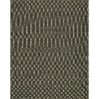Hand-woven Natural Black Jute Rug (7'9 x 9'9)