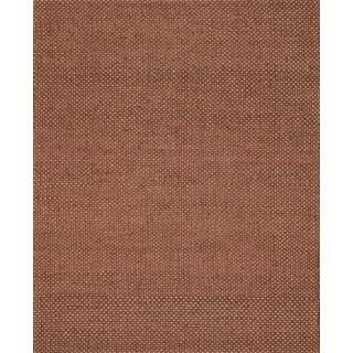 Hand-woven Natural Rust Jute Rug (7'9 x 9'9)