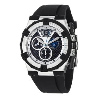 Stuhrling Original Men's Falcon Swiss Quartz Chronograph (Ronda Startech 5030.D) Watch