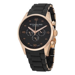 Stuhrling Original Men's Quest Swiss Quartz Strap Watch