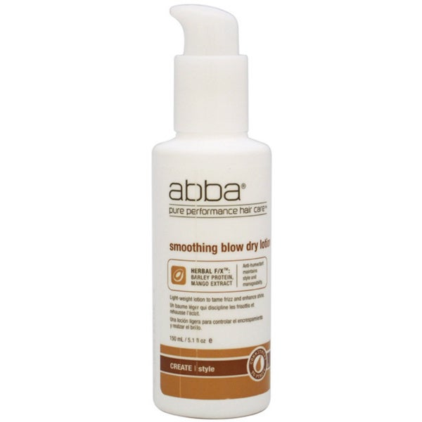 ABBA 5.1-ounce Smoothing Blow Dry Lotion