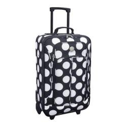 Travelers Club Euro Value II Polka Dot 20-inch Carry On Upright Suitcase