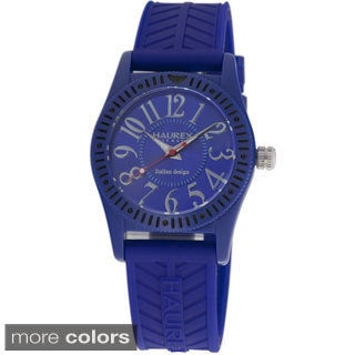 Haurex Italy Men's Promise Rubber Strap Watch