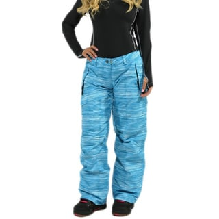 Pulse Women's 'Statement' Peacock Blue Snowboard Pants
