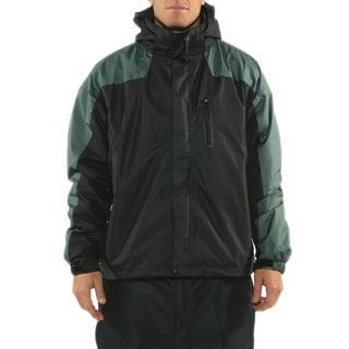 Pulse Men's 'Fox Systems' Black and Charcoal 3-in-1 Jacket
