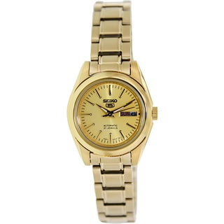 Seiko Women's Gold-Tone Stainless Steel Automatic Watch