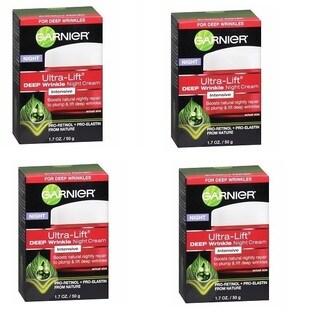 Garnier Ultra-Lift Deep Wrinkle 1.7-ounce Night Cream (Pack of 4)