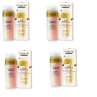 L'Oreal Age Perfect De-Crinkling & Illuminating Treatment (Pack of 4)