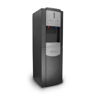 Soleus Air 'WA1-02-21A DB' Black Bottom-Load Water Dispenser with LED Indicator Lights