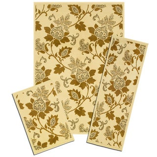 Capri Floral Whisper 3-piece Rug Set