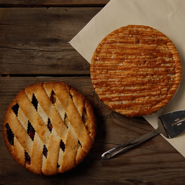 Rocky Mountain Apple Caramel/Red, White and Blue Lattice Pie Combo Pack