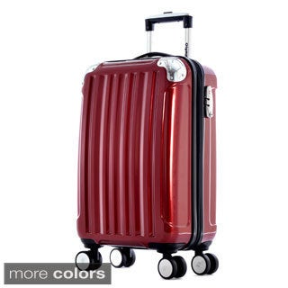 Olympia 'Stanton' 25-inch Medium Hardside Spinner Upright Suitcase