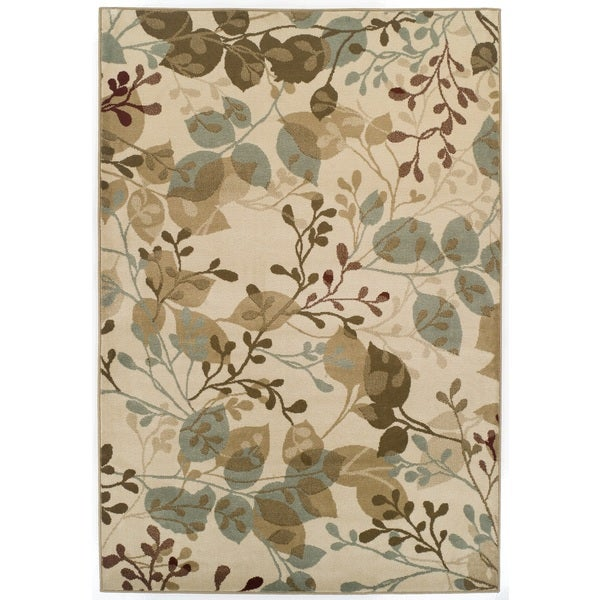 Please dont put back to site with out buyer approval Easton Collection Ivory Delight Area Rug