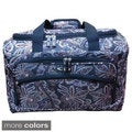 Kemyer Paisley 17-inch Carry-on Duffel Tote Bag