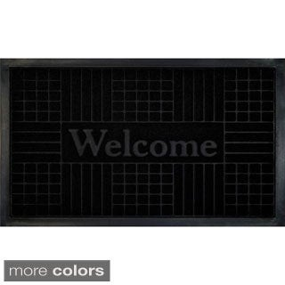 Geometric Welcome Mat
