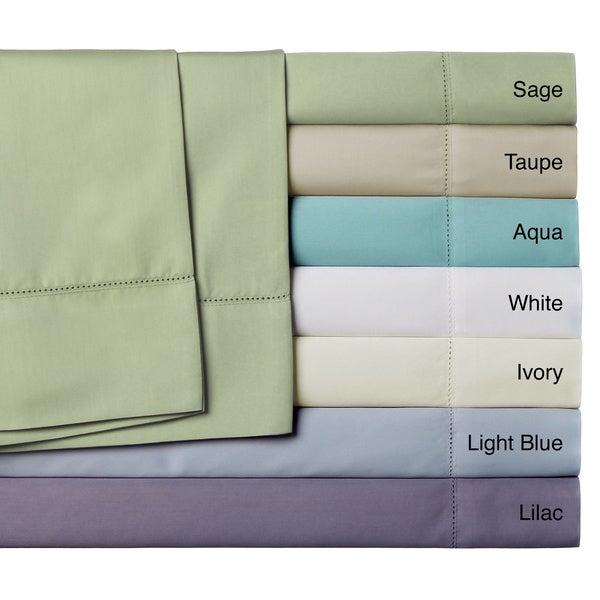 400 Thread Count Sedona Cotton Rich Solid Sheet Set