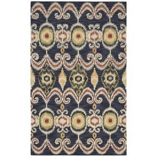 Nourison Siam Hand-tufted Indigo Rug (3'6x5'6)