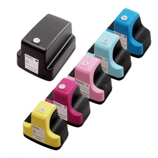 Sophia Global HP 02XL Ink Cartridge Replacement (6 Pack) (Remanufactured)