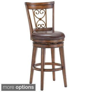 Villagio Dark Chestnut Finish Stool
