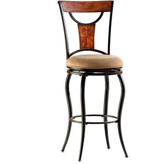 Pacifico Black/ Copper Highlights Finish Stool