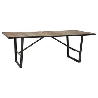'Antonie' Natural Wood Finish Dining Table