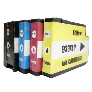 Replacement for CN053AN CN054AN CN055AN CN056AN for HP 932XL & 933XL 4-color Ink Cartridge Set