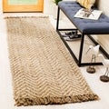 Safavieh Hand-woven Natural Fiber Bleach/ Natural Jute Rug (2'6 x 8')