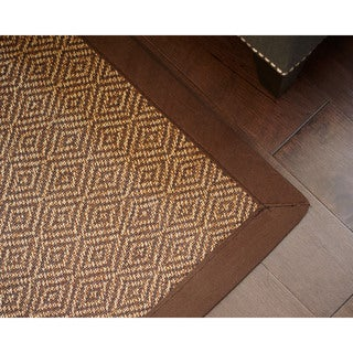 Ody Brown Bamboo Rug (5' x 8')