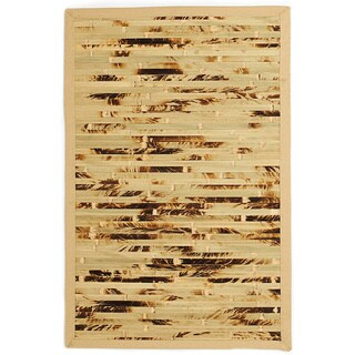 Esto Natural Camo Bamboo Rug (7' x 10')