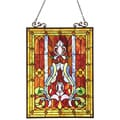 Tiffany Style Victorian Motif Window Panel