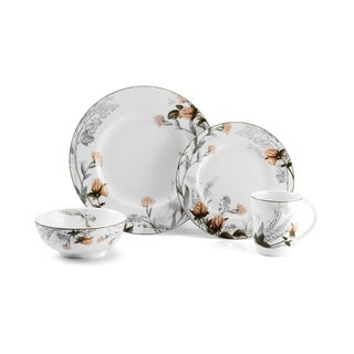 Mikasa Chateau Garden 4-piece Dinnerware