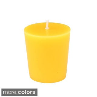 Hand-poured Citronella Votive Candles (Set of 12)