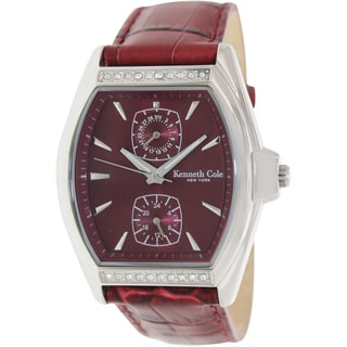 Kenneth Cole Women's 'Modern Core' Leather Quartz Watch