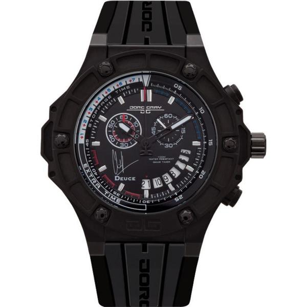 Jorg Grey Men's 'Clint Dempsey' Limited Edition Black Watch
