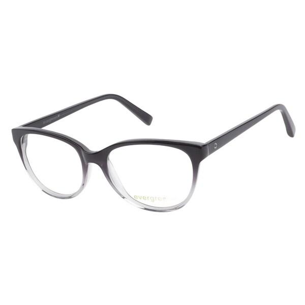 Evergreen 6016 Black Gradient Prescription Eyeglasses