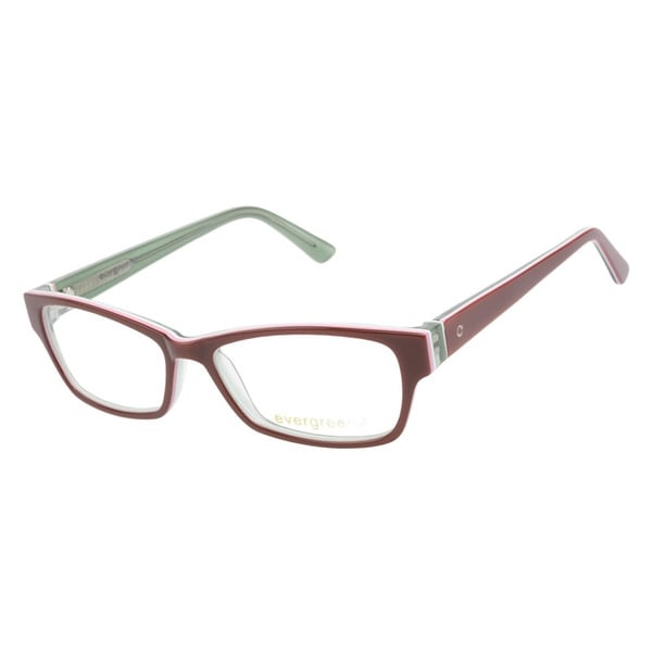 Evergreen 6014 Auburn Stripe Prescription Eyeglasses