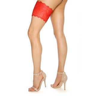 GirlyGoGarter Red Pocketed Garter