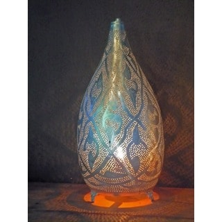 Minaret Silver Accent Lamp (Egypt)