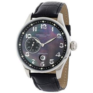 Stuhrling Original Men's Heritage Grand Automatic Movement Strap Strap Watch