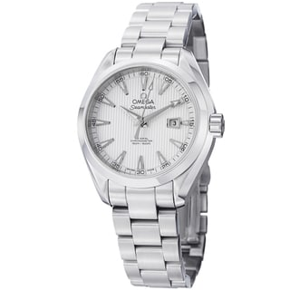 Omega Women's 231.10.34.20.04.001 'AquaTerra' Silver Dial Stainless Steel Automatic Watch