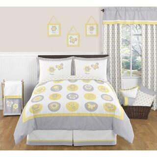 Sweet Jojo Designs Mod Garden 3-piece Full/Queen Comforter Set