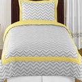 Sweet Jojo Designs Chevron Zigzag 4-piece Twin Comforter Set